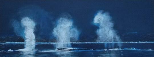 Obraz do salonu artysty Barbara Lis pod tytułem Oddech oceanu