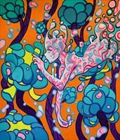 Obraz do salonu artysty Sofiia(Alisa) Krytsak pod tytułem Płyn