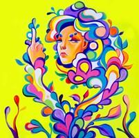 Obraz do salonu artysty Sofiia(Alisa) Krytsak pod tytułem Złość