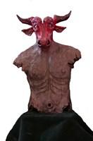 Rzeźba do salonu artysty Tomasz Mrozowski pod tytułem Minotauros