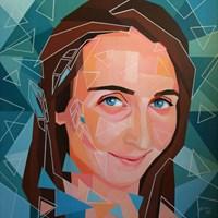 Obraz do salonu artysty Magdalena Purol pod tytułem MKM NATALIA