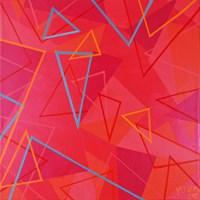 Obraz do salonu artysty Magdalena Purol pod tytułem RAINBOW PINK