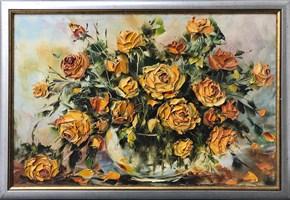 Obraz do salonu artysty Jolanta  Kowalik pod tytułem Kwiaty II