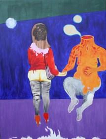 Obraz do salonu artysty Mariusz Drabarek pod tytułem ''Ferment''