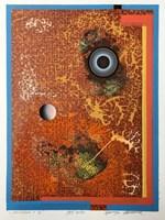 Obraz do salonu artysty Henryk Płóciennik pod tytułem M+A6:AH6onotypia   + 1/1