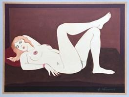 Obraz do salonu artysty Henryk Płóciennik pod tytułem Akt - bez tytułu 3