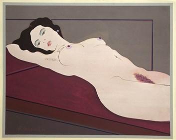 Obraz do salonu artysty Henryk Płóciennik pod tytułem Akt - bez tytułu 5