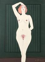 Obraz do salonu artysty Henryk Płóciennik pod tytułem Akt - bez tytułu 7