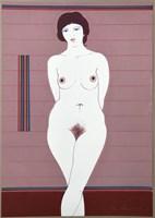 Obraz do salonu artysty Henryk Płóciennik pod tytułem Akt - bez tytułu 8