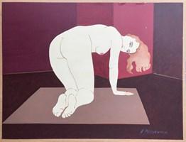Obraz do salonu artysty Henryk Płóciennik pod tytułem Akt - bez tytułu 11