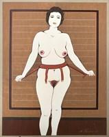 Obraz do salonu artysty Henryk Płóciennik pod tytułem Akt - bez tytułu 13
