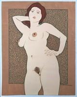 Obraz do salonu artysty Henryk Płóciennik pod tytułem Akt - bez tytułu 14