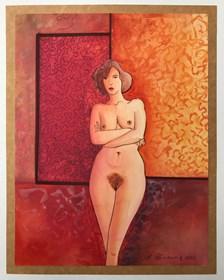 Obraz do salonu artysty Henryk Płóciennik pod tytułem Akt - bez tytułu 16