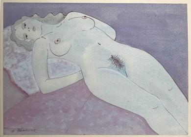 Obraz do salonu artysty Henryk Płóciennik pod tytułem Akt - bez tytułu 17