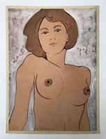 Obraz do salonu artysty Henryk Płóciennik pod tytułem Akt - bez tytułu 18
