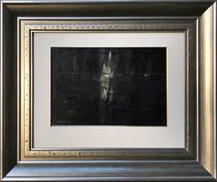 Obraz do salonu artysty Krzysztof  Gocek pod tytułem Nad wodą - Nokturn