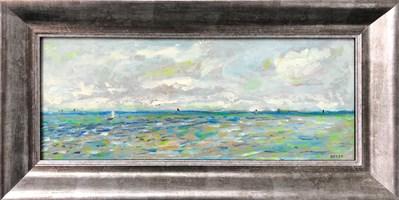 Obraz do salonu artysty Krzysztof  Gocek pod tytułem Impresja