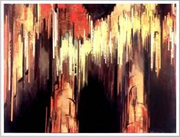 Obraz do salonu artysty Marian Szczerba pod tytułem Jaskinia-Raj