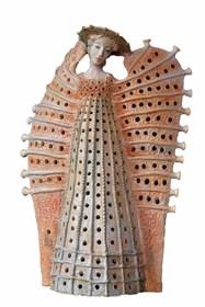 Rzeźba do salonu artysty Marta Wasilczyk pod tytułem Anioł