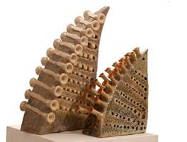 Rzeźba do salonu artysty Marta Wasilczyk pod tytułem Magiczne trójkąty ( zestaw 2 szt)