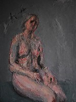Obraz do salonu artysty Monika Noga Noga pod tytułem Fragile