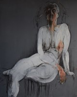 Obraz do salonu artysty Monika Noga pod tytułem She never came