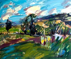 Living room painting by Iwona  Golor titled Tatry 2