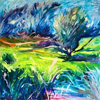 Living room painting by Iwona  Golor titled Otwock