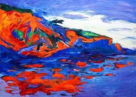 Obraz do salonu artysty Iwona  Golor pod tytułem Grecja