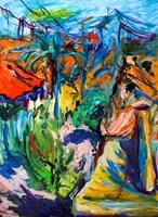Obraz do salonu artysty Iwona  Golor pod tytułem Grecja 2