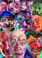 """Obraz do salonu artysty Iwona  Golor pod tytułem """"Koniec świata 9"""""""