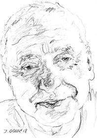 Obraz do salonu artysty Iwona Golor pod tytułem Krzysztof Najbor