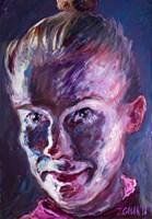 Obraz do salonu artysty Iwona  Golor pod tytułem Agnieszka Michalik