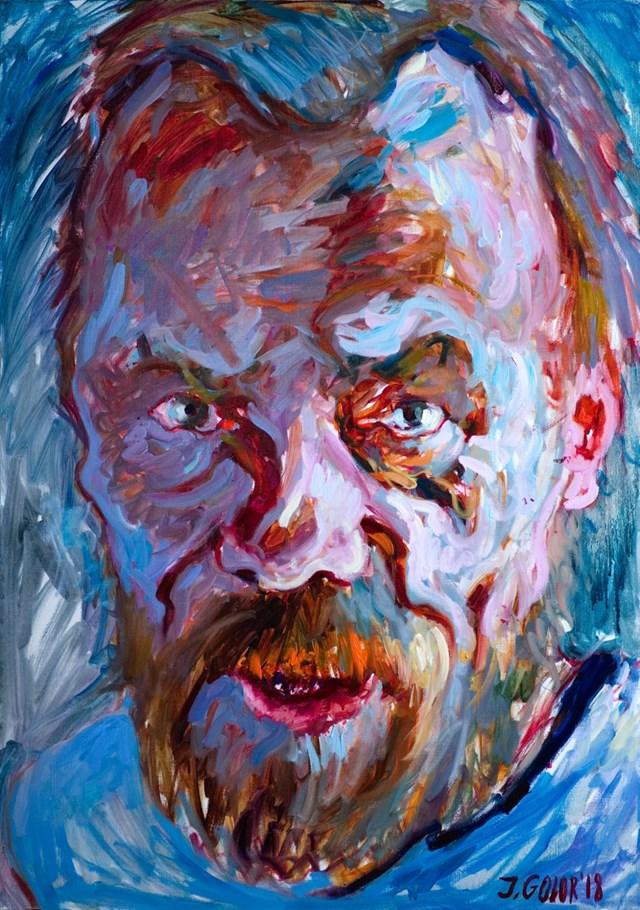 Obraz do salonu artysty Iwona Golor pod tytułem Andrzej Bienias