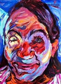 Obraz do salonu artysty Iwona Golor pod tytułem Siostra