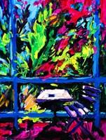 Obraz do salonu artysty Iwona  Golor pod tytułem Korfu Kawiarnia Panorama Savvas