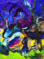 Obraz do salonu artysty Iwona  Golor pod tytułem Skarpa Wiślańska