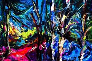 Obraz do salonu artysty Iwona  Golor pod tytułem Młyn Patryki 3