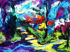 Obraz do salonu artysty Iwona  Golor pod tytułem Mariensztat 2