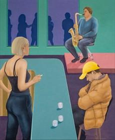 Obraz do salonu artysty Paulina Rychter pod tytułem Bar II