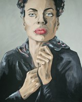 Obraz do salonu artysty Paulina Rychter pod tytułem Hermafrodyta 2
