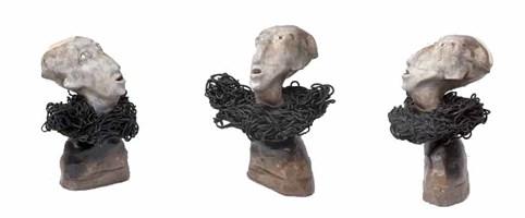 Rzeźba do salonu artysty Rafał  Tarnawski (Oriraf) pod tytułem Zdziwak 2/30