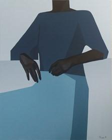 Living room painting by Aleksandra Kosmala-Czarnecka titled No titled