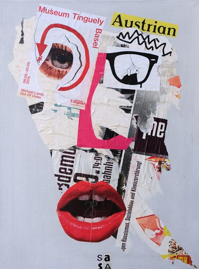 Obraz do salonu artysty Sasha Knezevic pod tytułem Bez tytułu