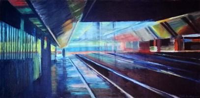 Obraz do salonu artysty Agata Baltyzar pod tytułem Miejsce ...6.30