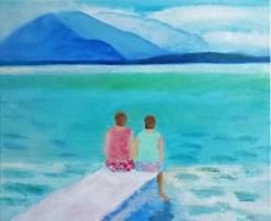 Obraz do salonu artysty Agata Baltyzar pod tytułem What unites us