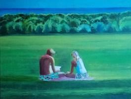 Obraz do salonu artysty Agata Baltyzar pod tytułem Harmonia słów