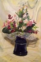 Obraz do salonu artysty Michał Kucharski pod tytułem Kwiaty w wazonie
