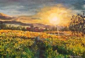 Obraz do salonu artysty Michał Kucharski pod tytułem Letni pejzaż