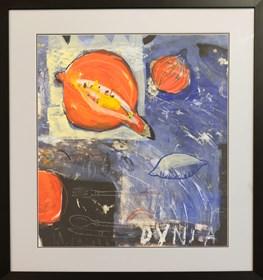 Obraz do salonu artysty Małgorzata Lazarek pod tytułem Dynia